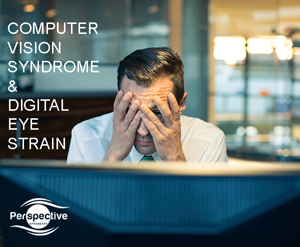 Computer visin syndrome and digital eye strain